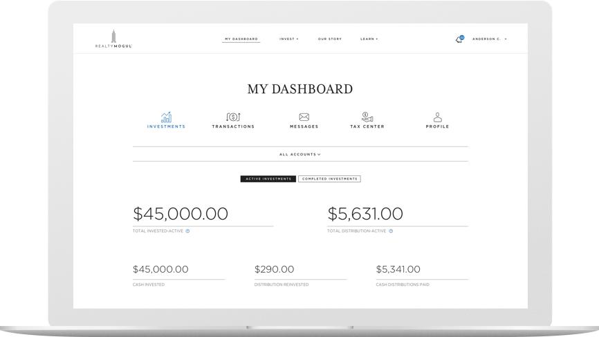 realtymogul com real estate crowdfunding investing